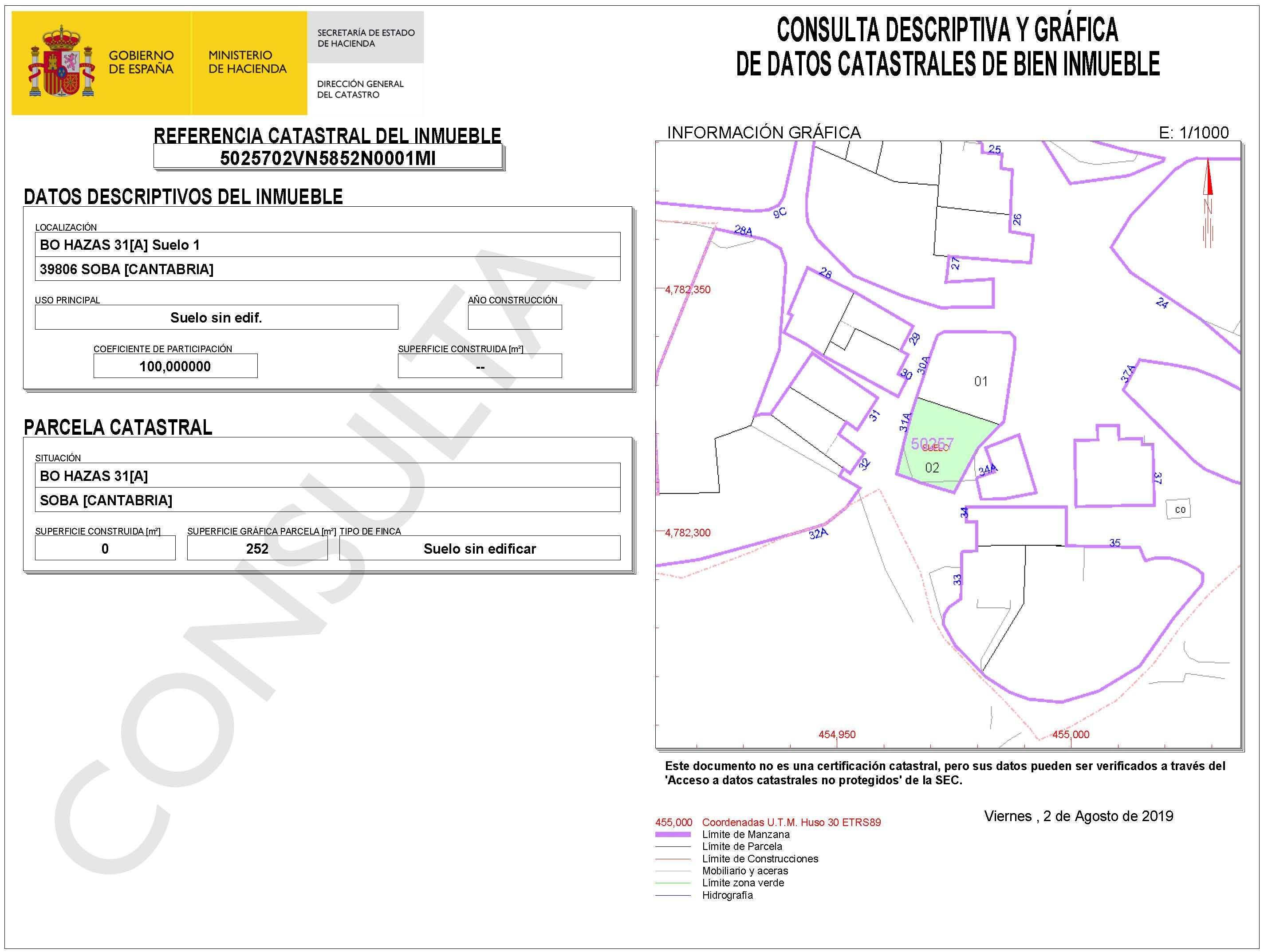 Land 252 sq m