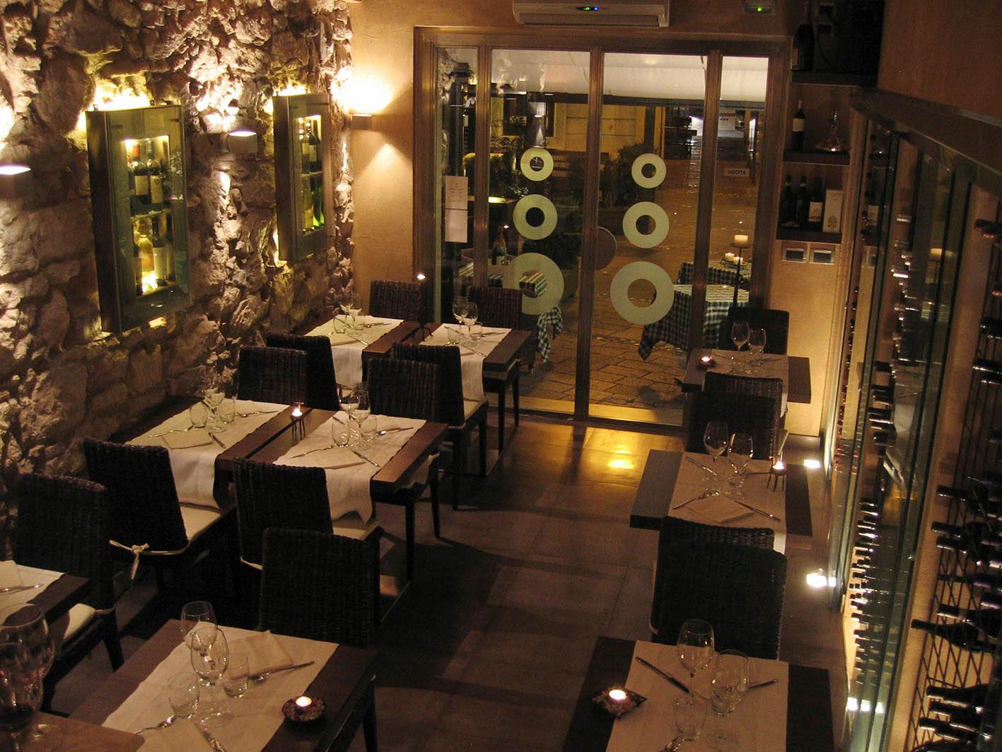 Gourmet restaurant 100 sq m