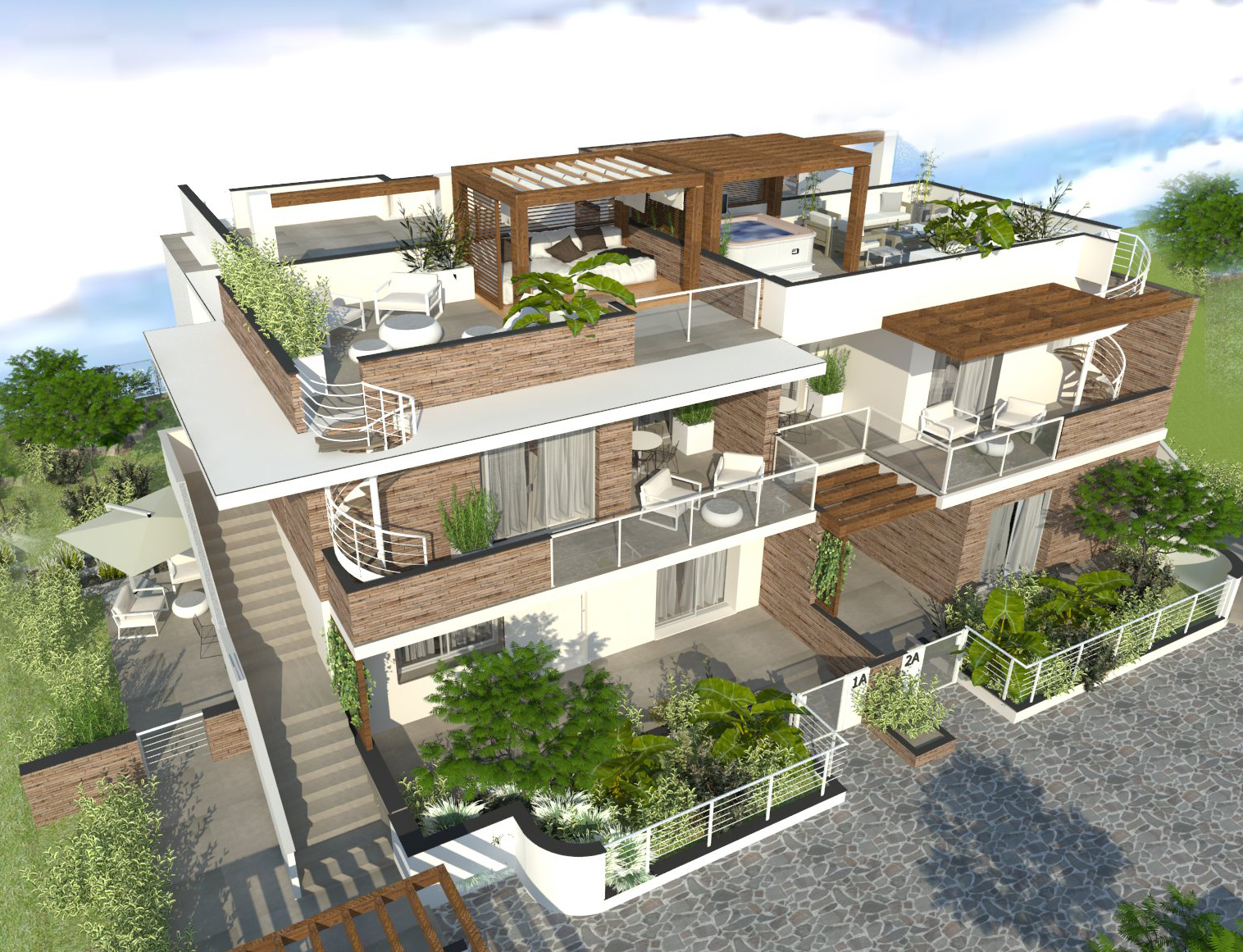 Costruzione 124 m²