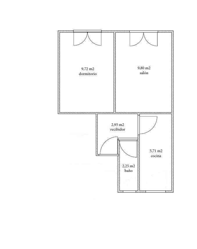 Apartamento 30 m²